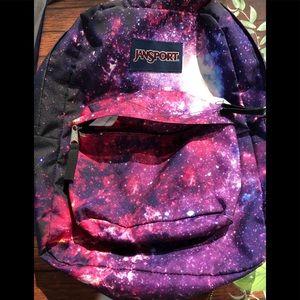 Jansport galaxy backpack - standard size